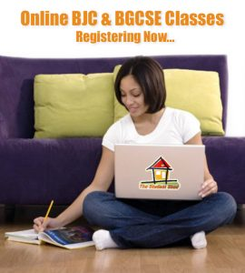 BJC & BGCSE Classes